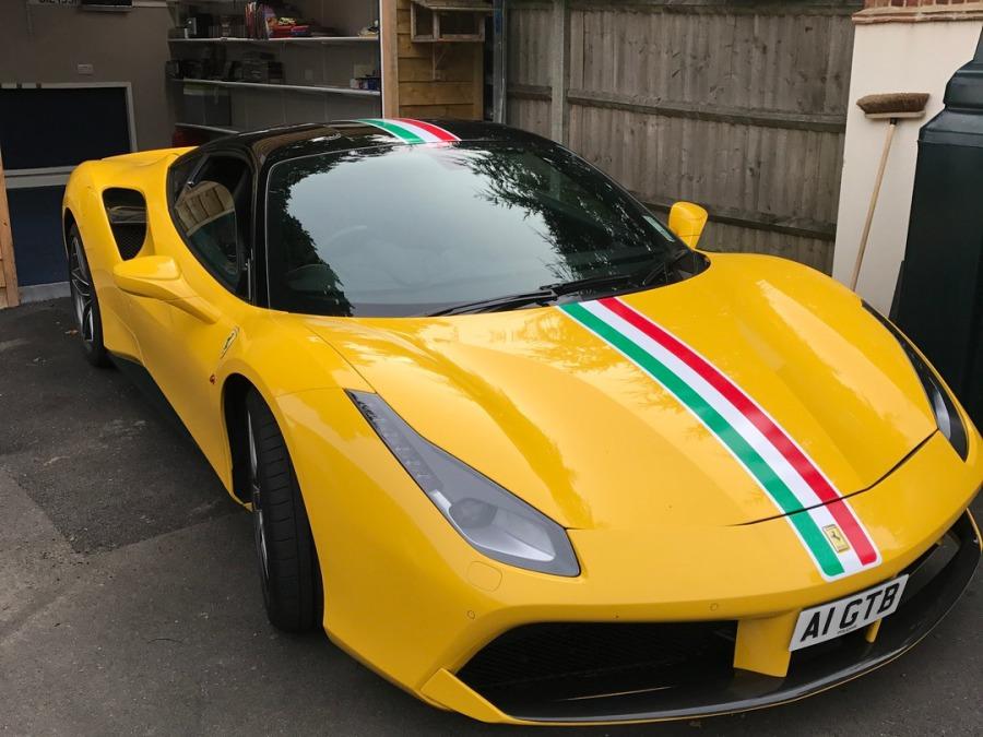 Ray Ferguson (Building Contractors) - Ferrari 488 - A1 GTB